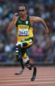 "Oscar ""Blade Runner"" Pistorius, shown here on a much better day"