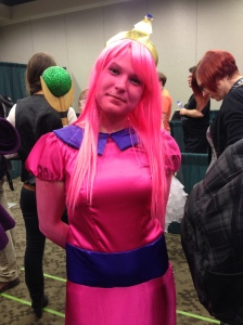 Princess Bubblegum by Miss Lime. Be sure to check out her Tumblr page! misslime.tumblr.com