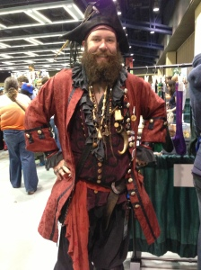 Capt. Redcoat McHaggis. Check out the awesome 'stache!!