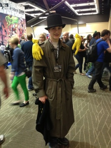 Inspector Gadget - this young fellow was in quite a hurry to get somewhere, so I was unable to get his name. Too bad his Go-Go-Gadget Copter wasn't practical