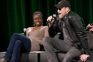 Danai Gurira and Michael Rooker, photo credit: Andre Tan