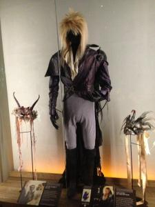 And attracting a LOT of attention: David Bowie's Jareth costume from Labyrinth!