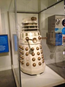 A Dalek from Doctor Who, the original series! Exterminate!!