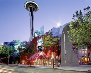 The Experience Music Project (EMP) at Seattle Center